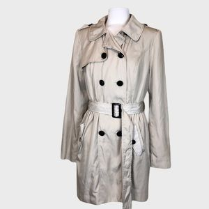 Select Size: S-XXL * FAST SHIPPING * Kensie Ladies/' Trench Coat FLORAL PRINT